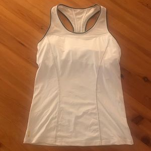 Lole white workout top